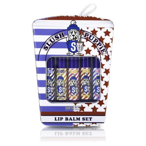 Slush Puppy 5 Lip Balms Tin Gift Set - Mad Beauty